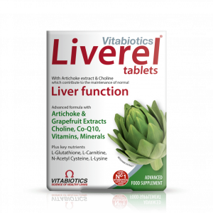 Vitabiotics Liverel Original 60 Tablets